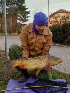Kapr 85 cm, Marťas, 28.2.2016
